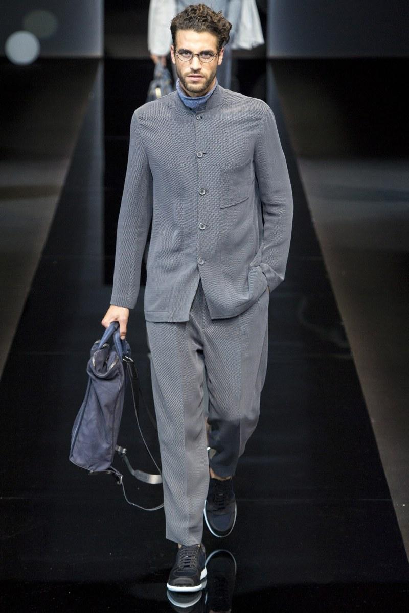 Giorgio Armani Menswear SS 2017 Milan (21)