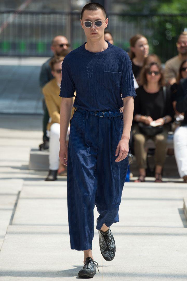 Issey Miyake Menswear SS 2017 Paris (19)