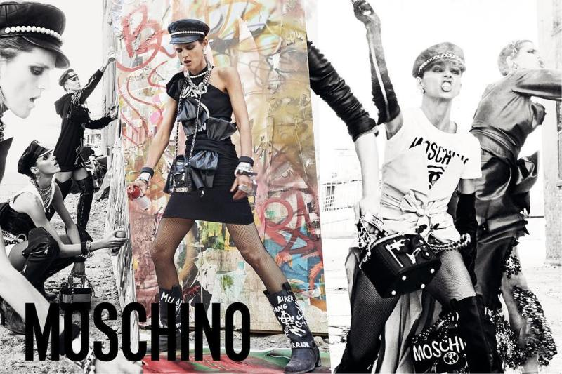 Moschino FW 2017 Campaign by Steven Meisel (1)