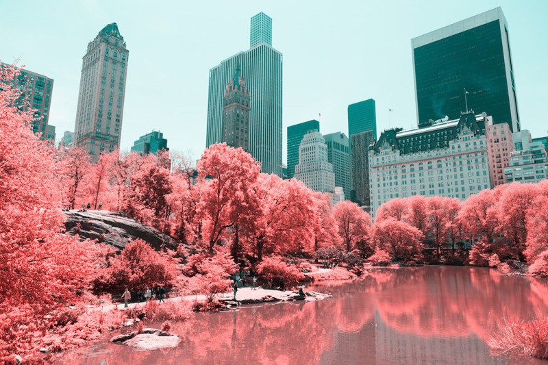 New York in Infrared Photography Series (10)