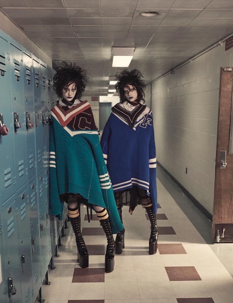 Odette Pavlova & Lia Pavlova by Craig McDean (6)