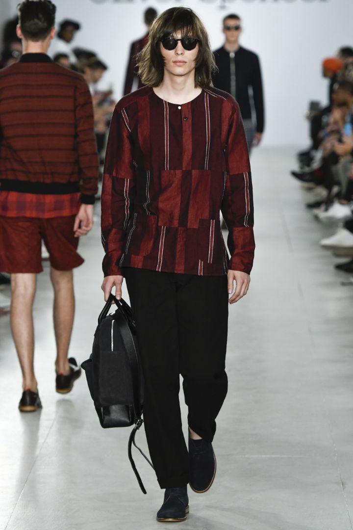 Oliver Spencer Menswear SS 2017 London (13)