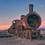 Abandoned Trains in Bolivia by Chris Staring