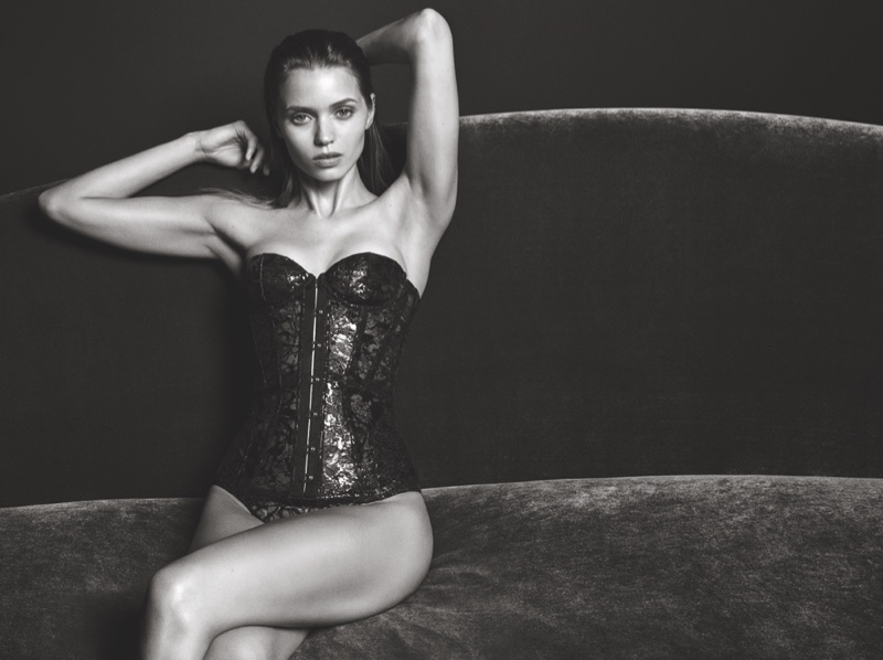 Agent Provocateur's FW 2016 Campaign ft. Abbey Lee Kershaw (2)