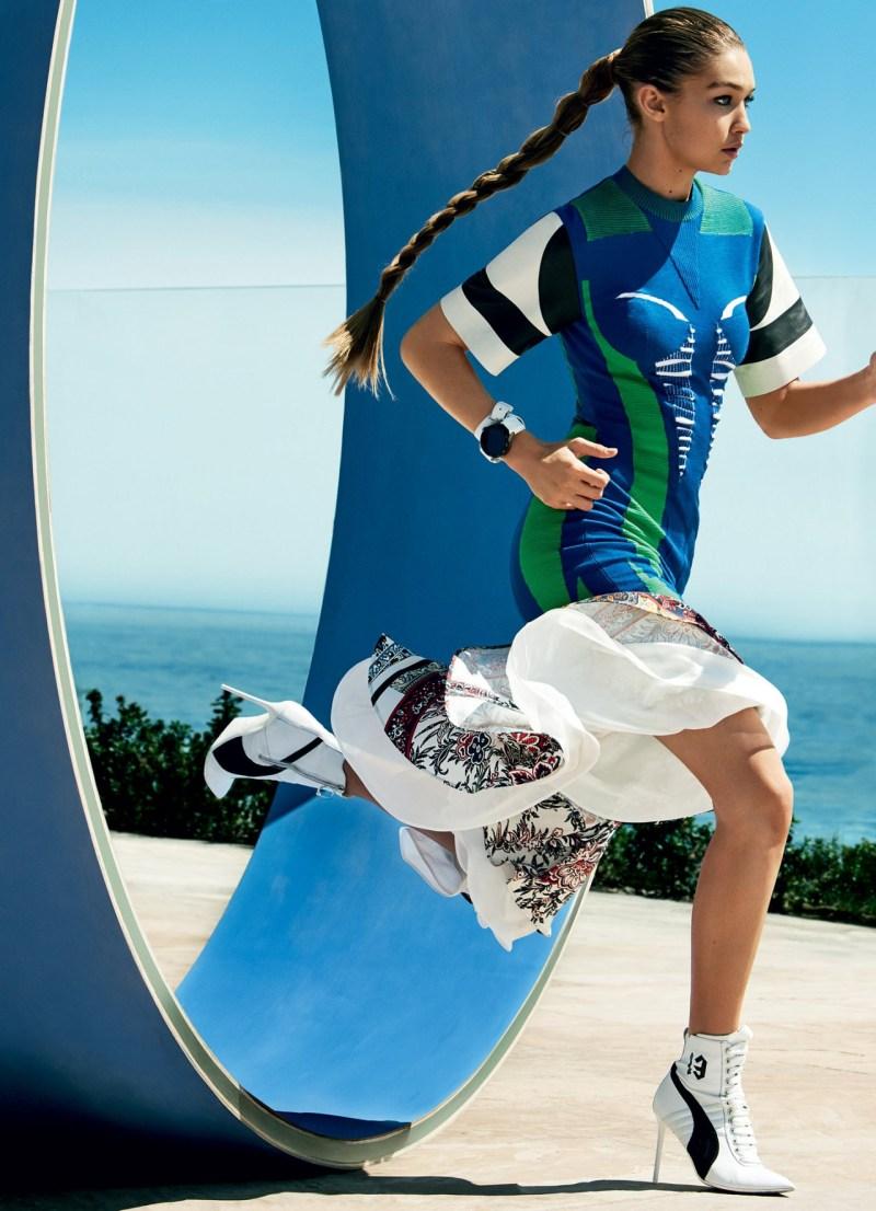Gigi Hadid & Ashton Eaton by Mario Testino (4)