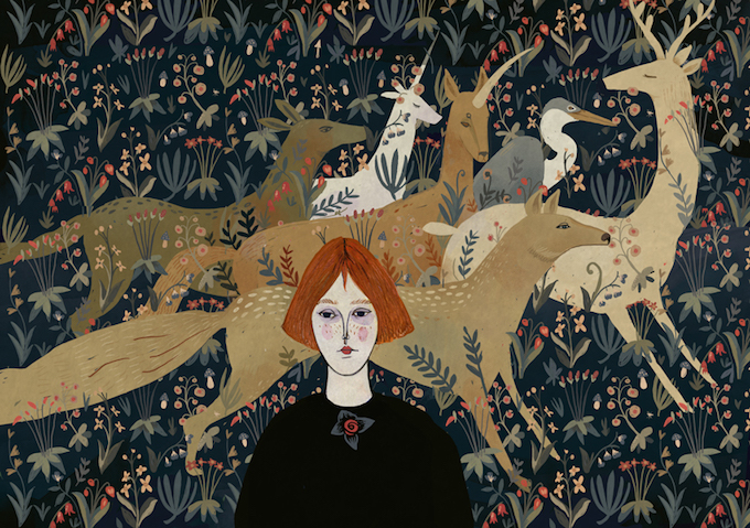 Illustrations by Alexandra Dvornikova (2)