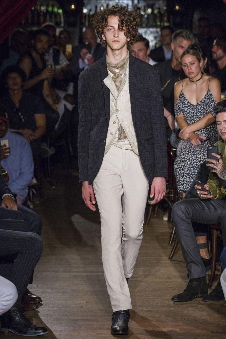 John Varvatos Menswear SS 2017 NYFW (1)