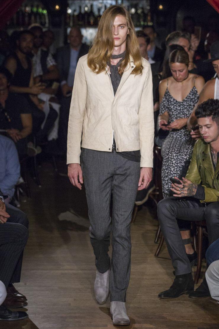 John Varvatos Menswear SS 2017 NYFW (2)
