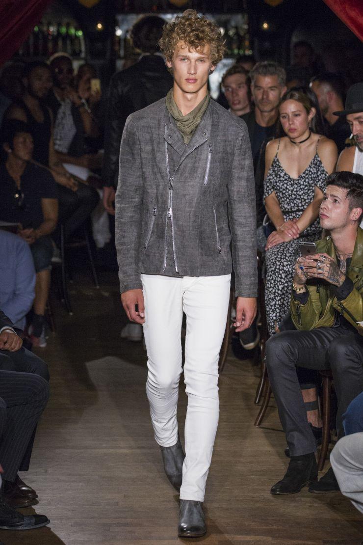 John Varvatos Menswear SS 2017 NYFW (7)