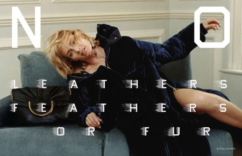 Stella McCartney FW 16.17 ft. Amber Valletta by Harley Weir (1)