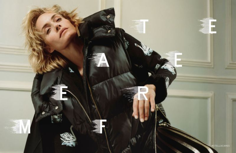 Stella McCartney FW 16.17 ft. Amber Valletta by Harley Weir (3)