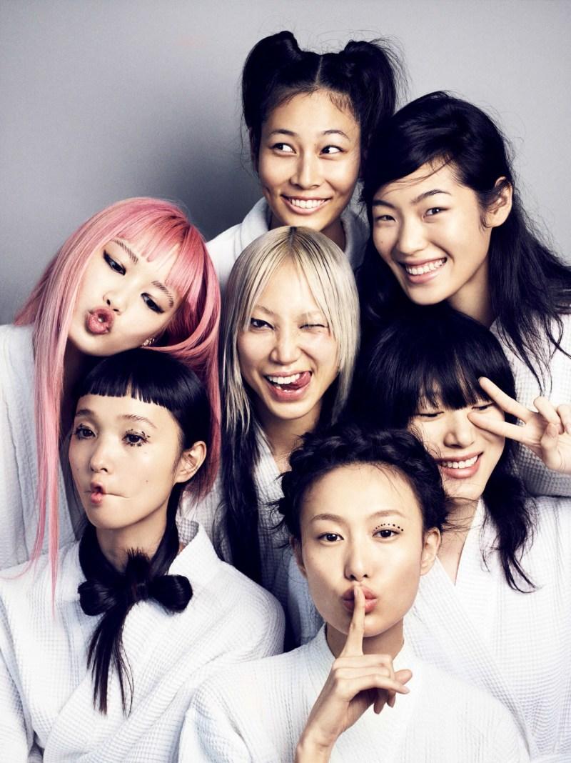 Chiharu Okunugi, Fernanda Ly, Shu Pei Qin, Soo Joo Park, Sora Choi, Milano Nasu & Yuka Mannami by Marcus Ohlsson  (6)