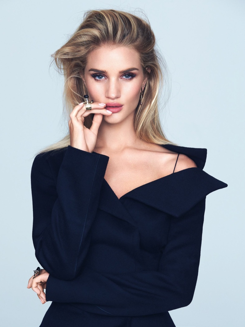 Rosie Huntington-Whiteley by David Bellemere (3)