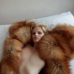 Lara Stone by Camilla Akrans