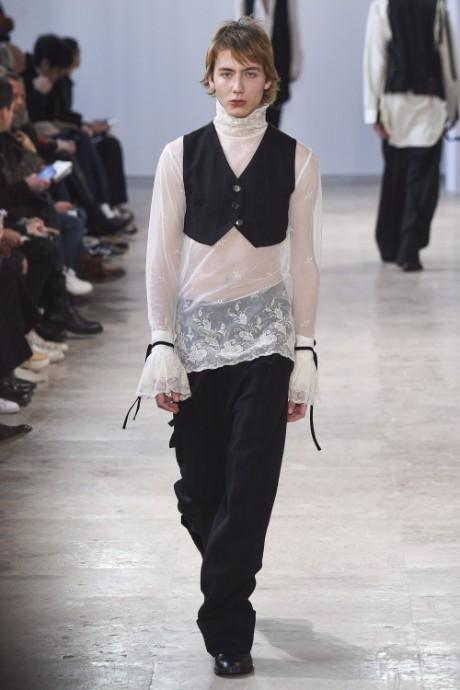 Ann Demeulemeester Menswear FW 2017 Paris10