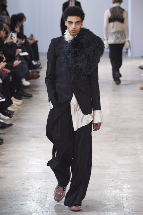 Ann Demeulemeester Menswear FW 2017 Paris16