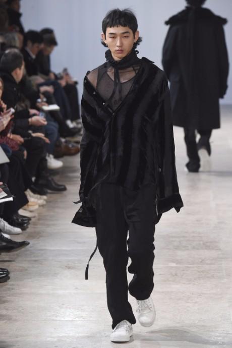 Ann Demeulemeester Menswear FW 2017 Paris18