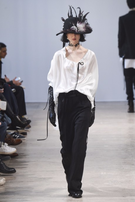 Ann Demeulemeester Menswear FW 2017 Paris40