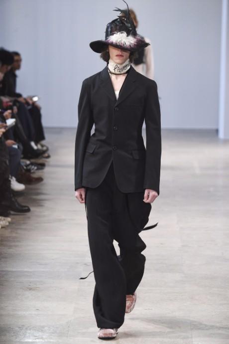 Ann Demeulemeester Menswear FW 2017 Paris9