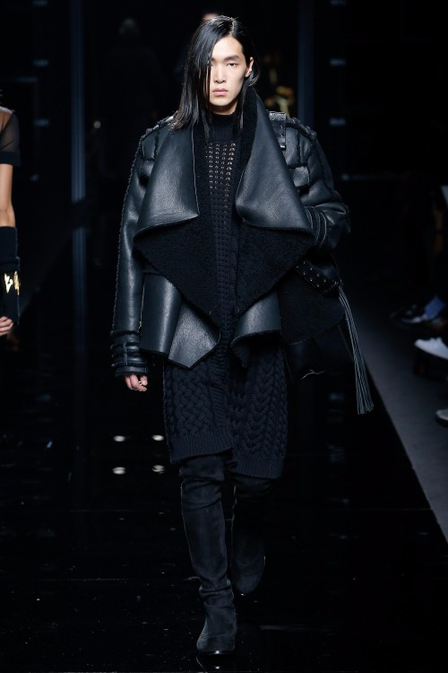 Balmain Menswear FW 2017 Paris25