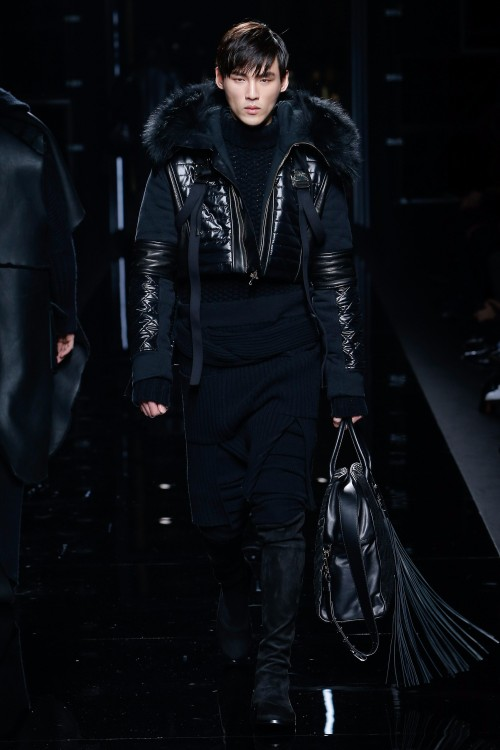 Balmain Menswear FW 2017 Paris27