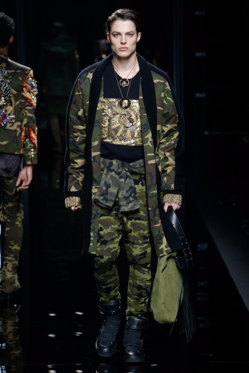 Balmain Menswear FW 2017 Paris6