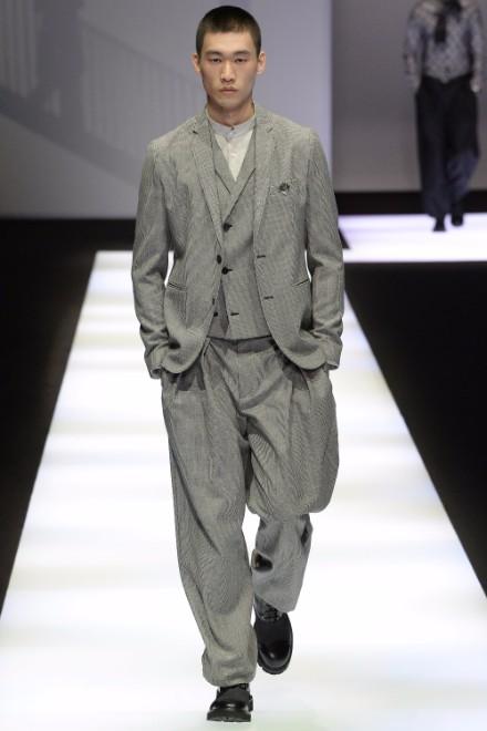 Emporio Armani Menswear FW 2017 Milan2