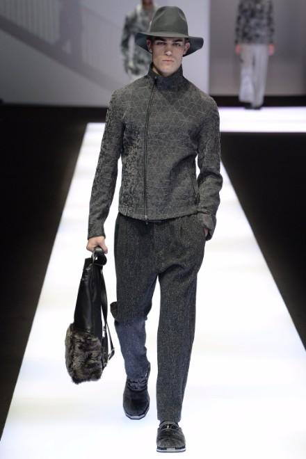 Emporio Armani Menswear FW 2017 Milan21