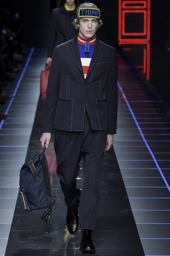 Fendi Menswear FW 2017 Milan33