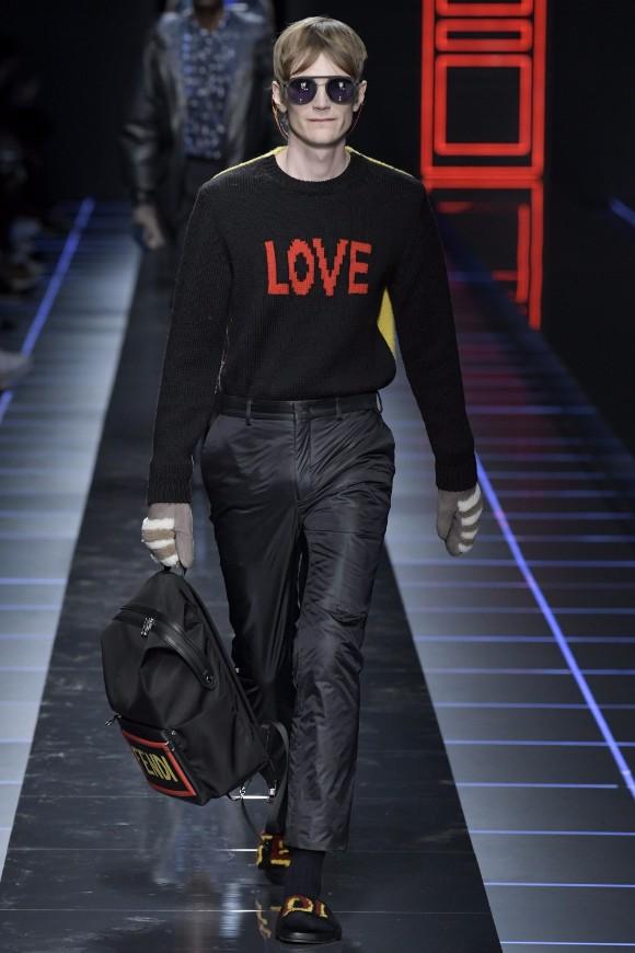 Fendi Menswear FW 2017 Milan45