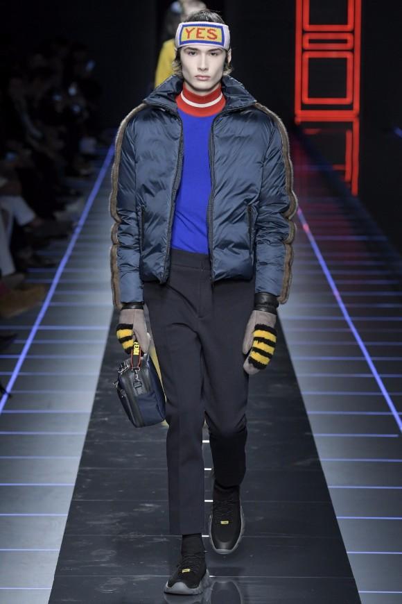 Fendi Menswear FW 2017 Milan47