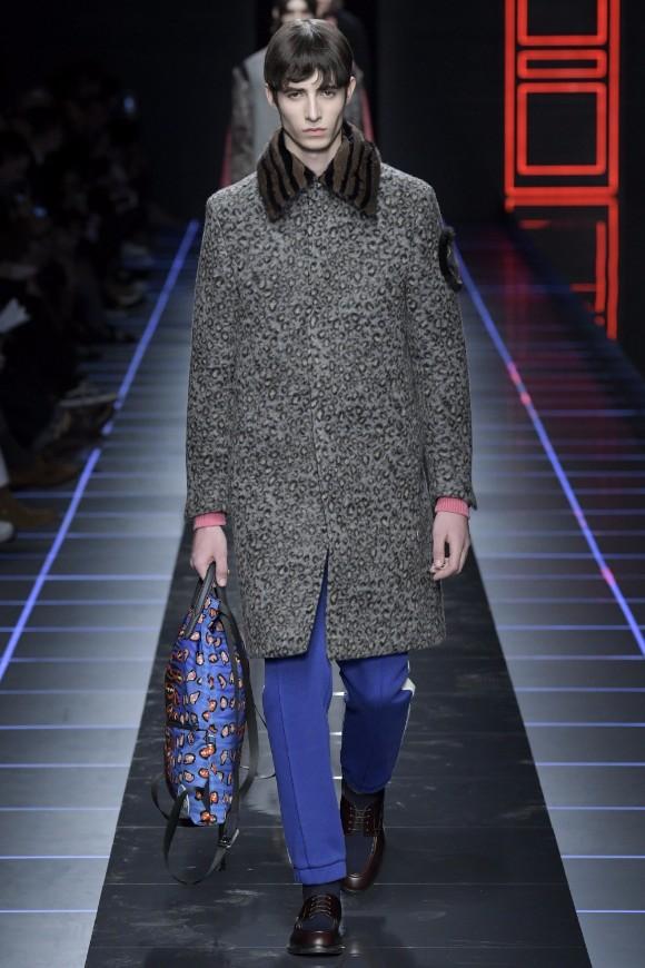 Fendi Menswear FW 2017 Milan5