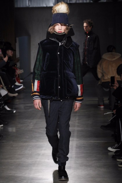 Sacai Menswear FW 2017 Paris37