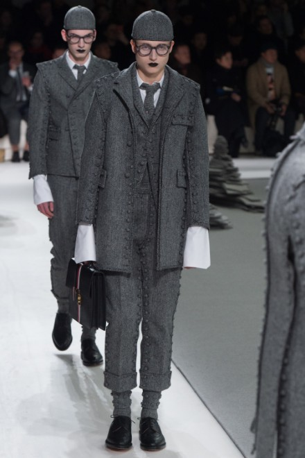 Thom Browne Menswear FW 2017 Paris (32)
