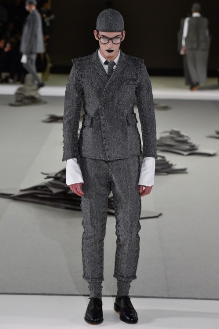 Thom Browne Menswear FW 2017 Paris (33)
