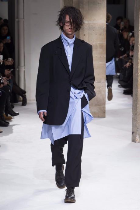 Yohji Yamamoto Menswear FW 2017 Paris11