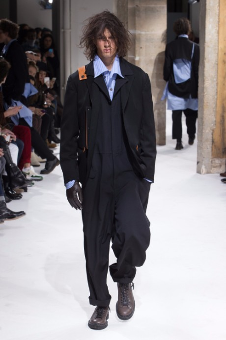 Yohji Yamamoto Menswear FW 2017 Paris12