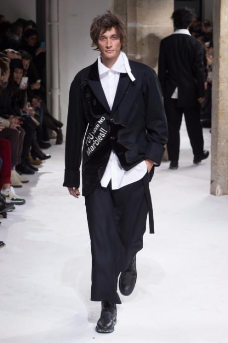 Yohji Yamamoto Menswear FW 2017 Paris16