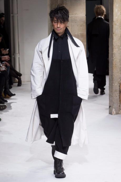 Yohji Yamamoto Menswear FW 2017 Paris26