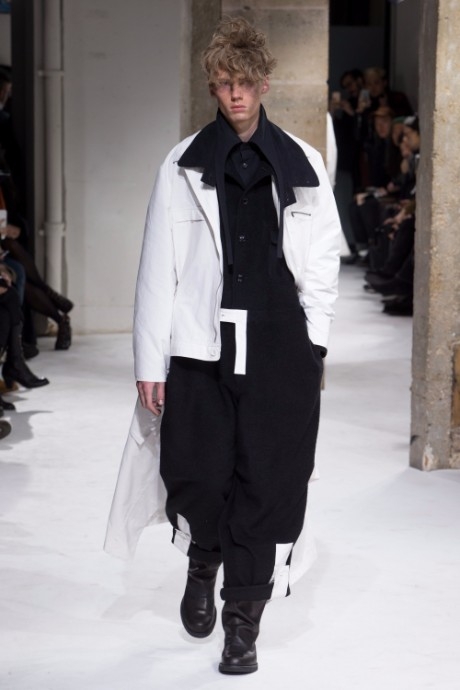 Yohji Yamamoto Menswear FW 2017 Paris27
