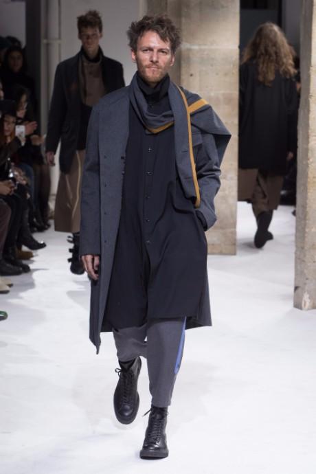 Yohji Yamamoto Menswear FW 2017 Paris4