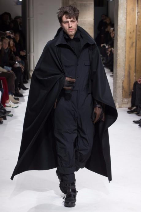 Yohji Yamamoto Menswear FW 2017 Paris45