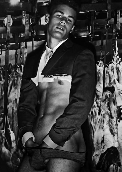 Louis Mayhew by Steven Klein