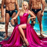 Penelope as Donatella, the Official Studio Released Photo