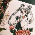 Stunning Sailor Moon Fan Art by PeitheDragon