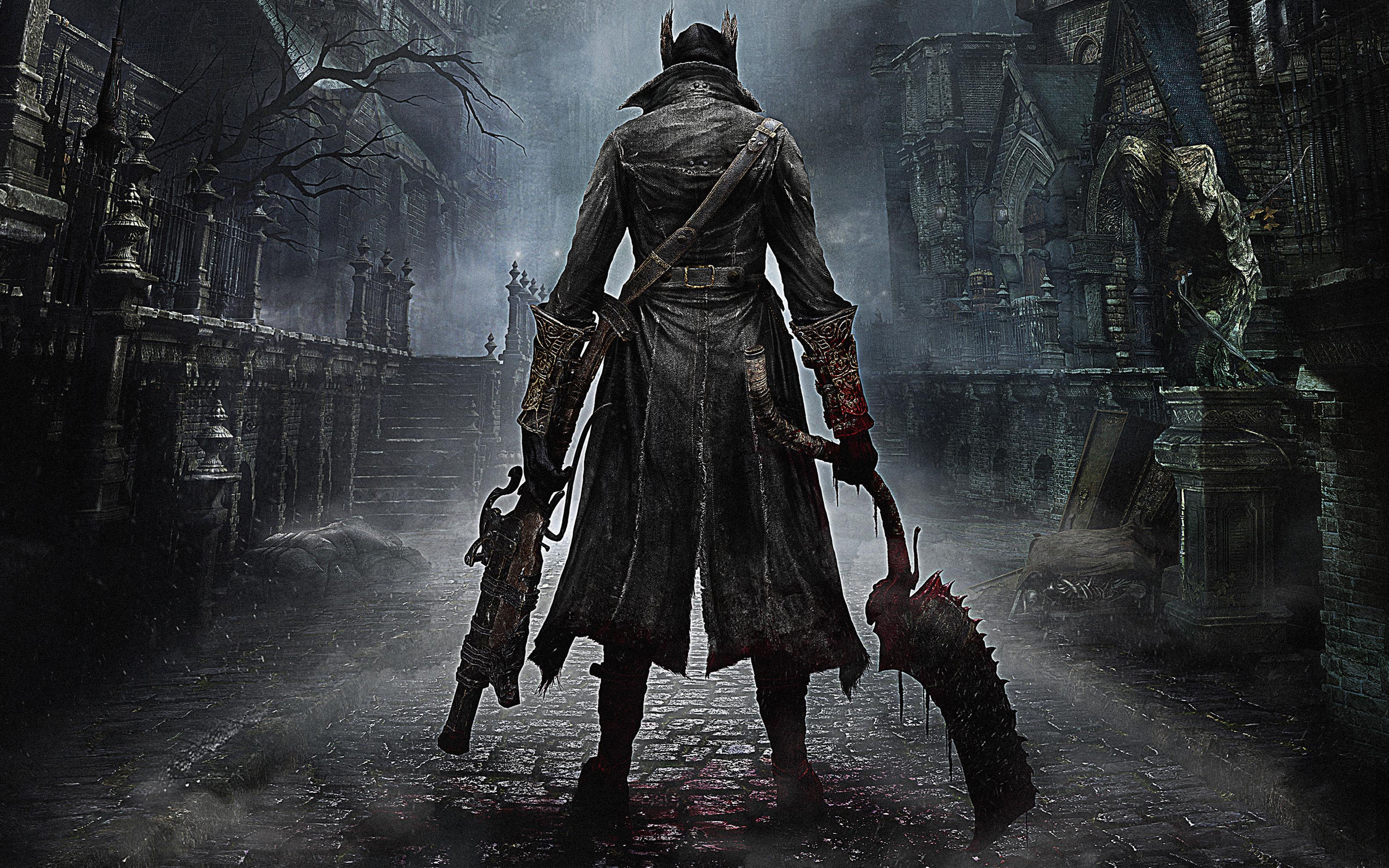 A review and rumor of the PS4 game, Bloodborne