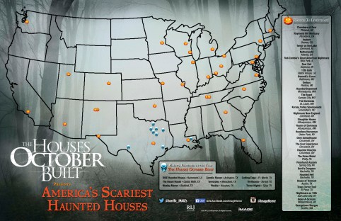 map - The Houses October Built helps Haunted Houses