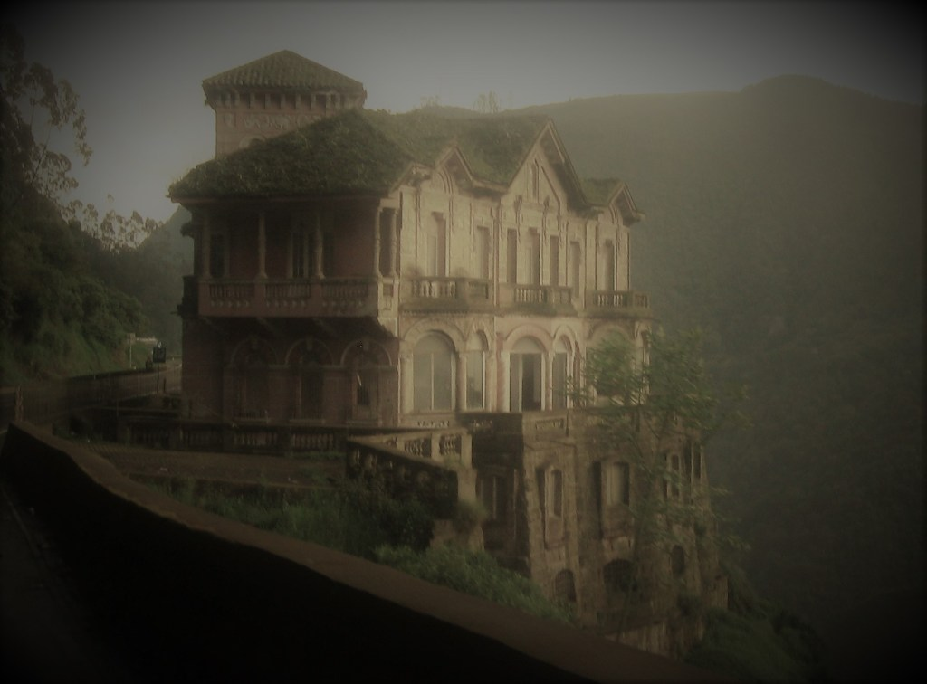"Hotel del Salto: The Grand Building atop ""Cursed"" Waters"