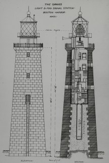 Lighthouse Architectural Drawing