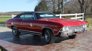 one of our classic car restoration projects in Middle, Tennessee a 1968 Chevy Chevelle SS